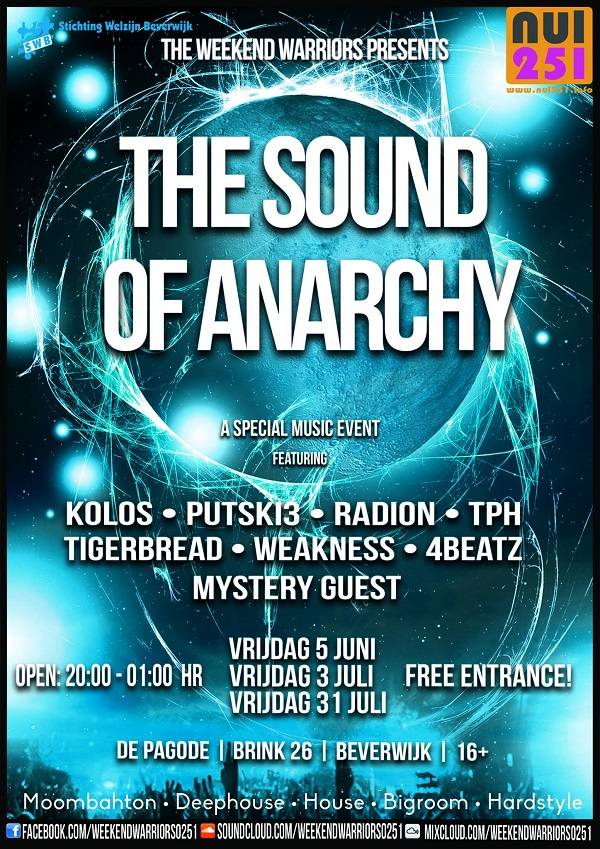 flyer the sound of anarchy